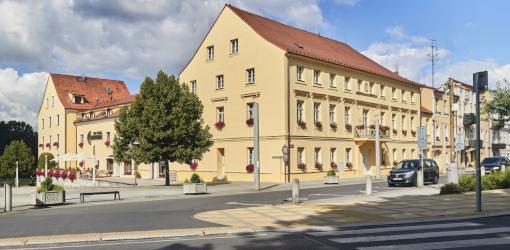 Häuser des Hotels Centrum Franzensbad