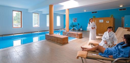 Schwimmbad im Hotel Centrum Franzensbad
