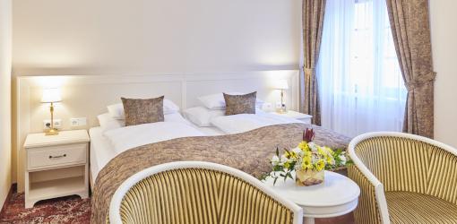 Ein weitere Wohnbeispiel im Hotel Centrum Franzensbad