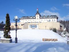 Winterliches Monty-Spa-Resort
