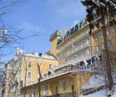 Spa-Hotel Vltava im Winter