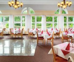 Speiseraum im Spa-Hotel Vltava