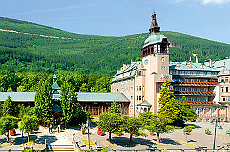 Dom Zdrojowy Wahrzeichen von Bad Flinsberg