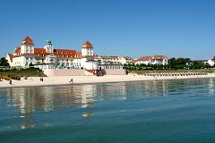 Ostseebad Binz auf der insel Rügen