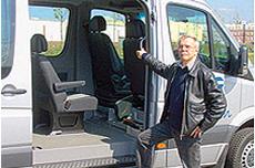 Informationen zu unserem eigenen Fahrdienst