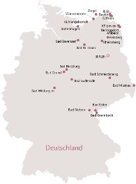 """zum Vergrößern für """"Reiseziele in Deutschland"""" auf die Karte klicken"""