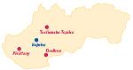 Slowakei-Karte zum Draufklicken