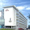 Hotel Ikar Plaza im neuen Kurviertel Kolbergs