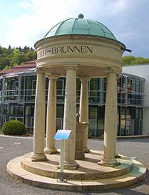 Behringer-Brunnen für die Trinkkur in Bad Suderode