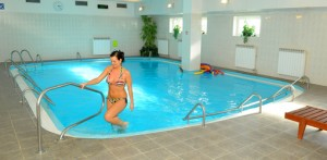 Schwimmbad im Hotel Pyramida Franzensbad