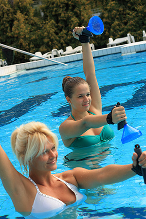 Wassergymnastik Hotel Helios