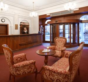 Kurhotel Imperial Franzensbad mit gediegenem Interieur