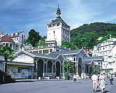 Kurkolonnade in Karlsbad