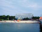 Ideal am Ostseestrand gelegen: das Hotel Baltyk im Kolberger Kurviertel