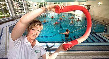 Wassergymnastik in der Paracelsusklinik Bad Suderode