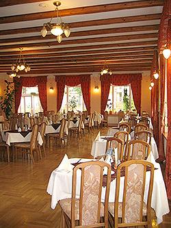 Speiseraum im Bad-Flinsberger Hotel Narcyz
