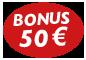 50-Euro-Bonus