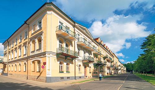Hotel Dr. Adler außen