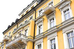 Detailansicht außen Kurhotel Imperial Franzensbad