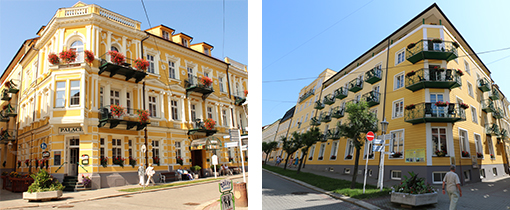 Hotel Palace 1 und die Dependance Palace 2