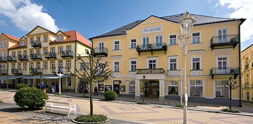Kurhaus Goethe Franzensbad