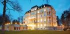 Hotel Villa Imperial Franzensbad abends