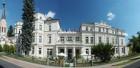 Neue Fassade am Kurhaus Monti Spa in hellem Beige