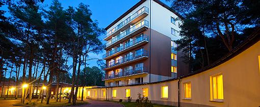 Haupthaus des Hotels Millennium Heidebrink