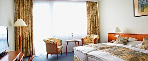 Zimmer der Superior-Kategorie Hotel Carbona