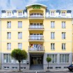 Vorderansicht Hotel Brussel
