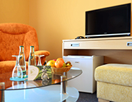 Flachbild-TV im Hotel Brussel