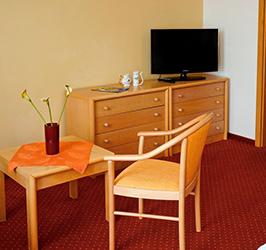 Teilansiicht von einem Zimmer im Hotel Flora Marienbad