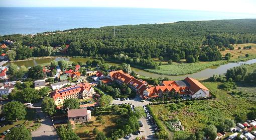 Hotel Kormoran aus der Vgelperspektive