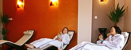 Relaxen im Wellnessbereich des Hotels Leda