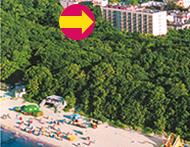Hotel Ikar Centrum unweit der Ostsee