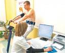 überwachte kardiologische Übung