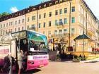 Das Hotel Krivan befindet sich in der Nähe der Trinkkolonnade von Karlsbad