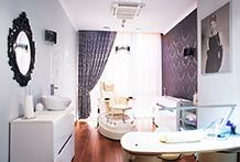 Kosmetikraum im Kolberger Hotel Leda