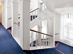 Innenausstattung Treppenhaus Kurhotel Praha