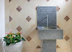 Mineralquelle im Haus Kurhotel Praha Franzensbad