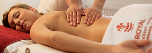 Massage im  Hotel Royal Marienbad
