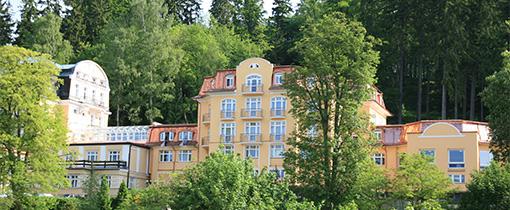Das Hotel Royal besteht aus 3 Häusern