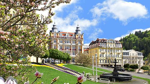 Spa Resort Hvezda am Marienbader Goetheplatz