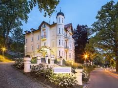 Marienbader Hotel Villa Regent am Abend