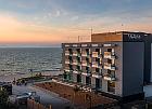 Klickbild Hotel Baltivia in Mielno (Abendrot und Ostseestrand)