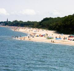 Strand am Ostseebad Mielno
