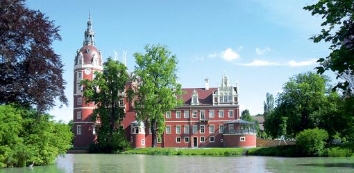 Schloss Bad Muskau - Kurort mit Moorkur-Betrieb