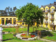 Innenhof Ferien-Hotel Jantar Niechorze