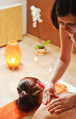 Wellness-Massage im Spa-Hotel Felicitas Podebrady