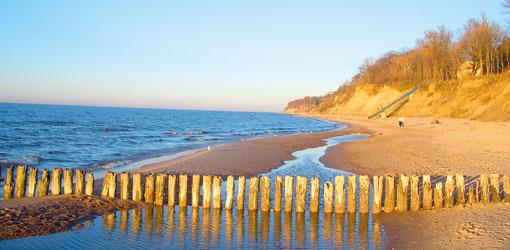 Ostseeküste bei Rewal